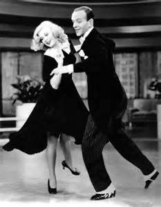 Fred Astaire and Ginger Rogers: