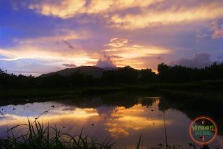 Kediren Magetan : Panorama Senja itu Indah