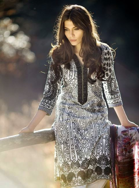 Sana Safinaz Spring Lawn 2015 collection