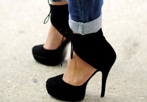 Modernos zapatos de moda