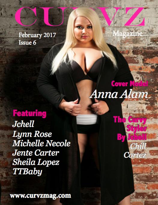 Curvz Magazine February 2017