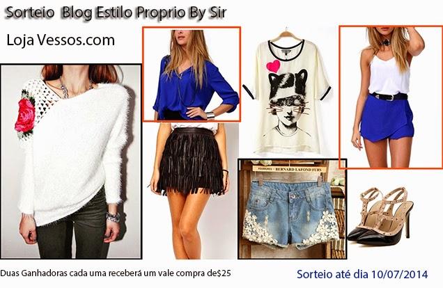 Sorteio Estilo Próprio by Sir