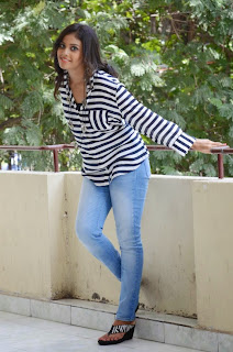 Actress Chandini Latest Pictures in Jeans at Kiraak Release Date Announcement Press Meet  0053.jpg