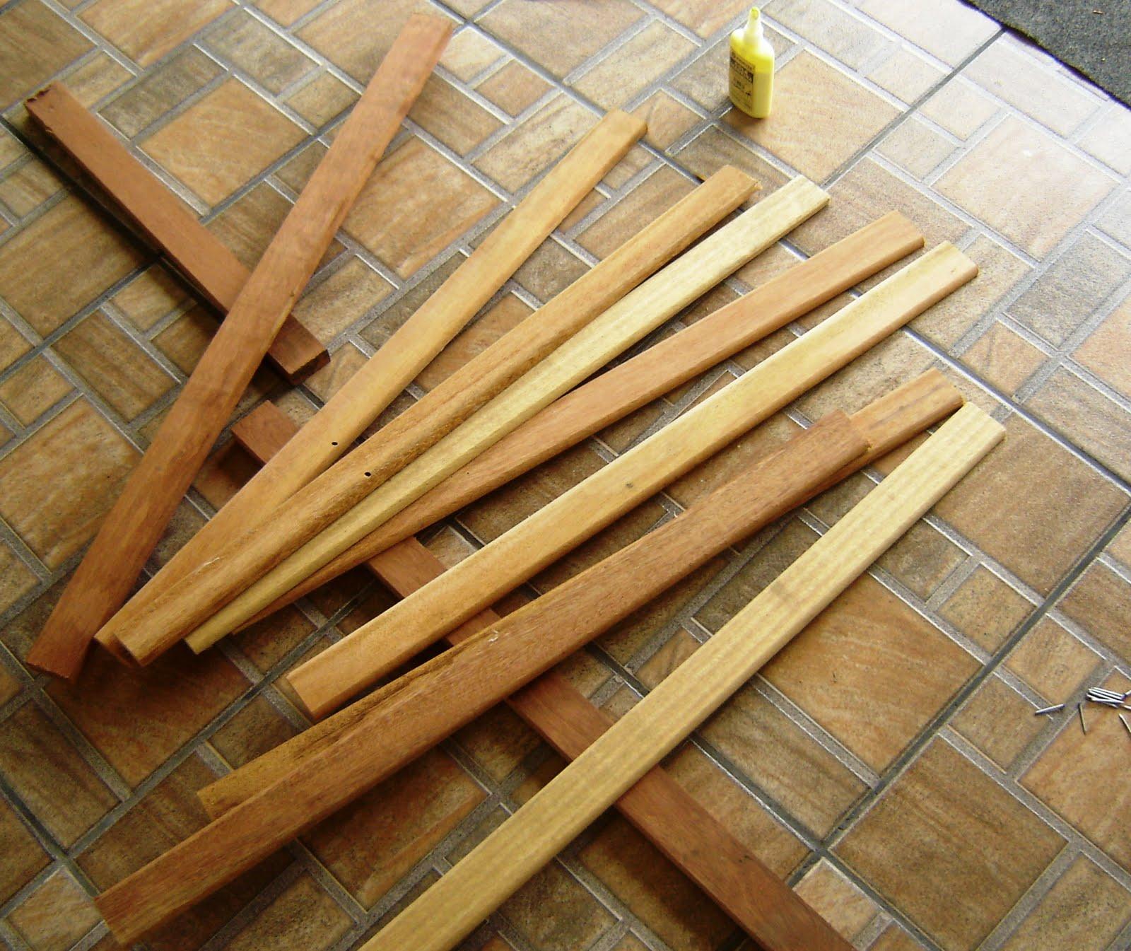 cerca de madeira para jardim passo a passo:CRiações em família  #A79B24 1600x1345