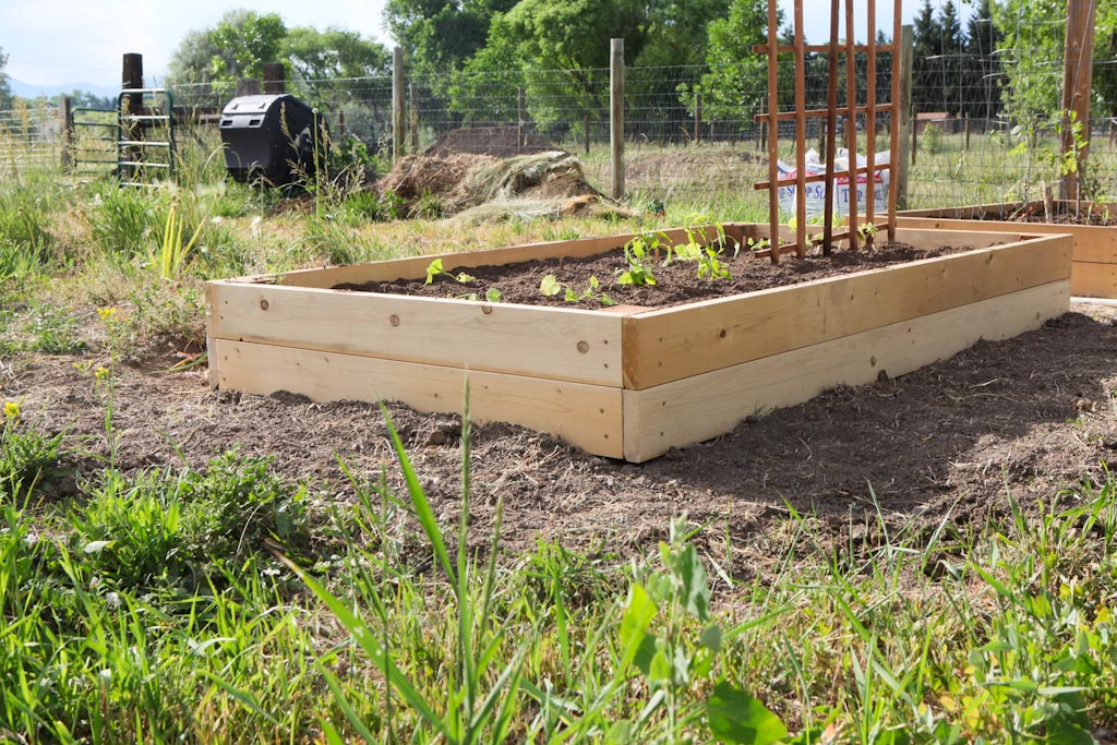 Raised Garden Beds. We Debated For Quite Some Time Just How To Go About  Preparing The Garden Area This Year.