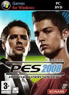 Download Game Pro Evolution Soccer 2008 Full Rip For PC
