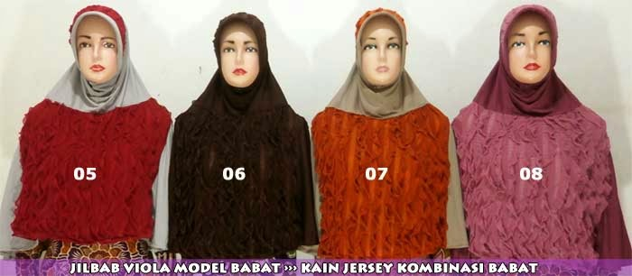 Jilbab model terbaru dan modern 2014