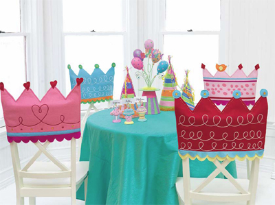 Every Little Girl is a Princess Chair Covers as seen on Tip Junkie