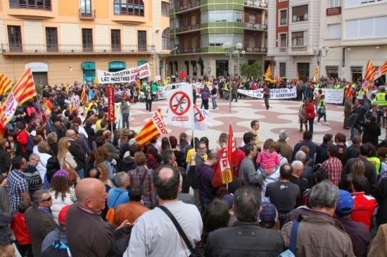 Manifestació a Tortosa contra la corrupció