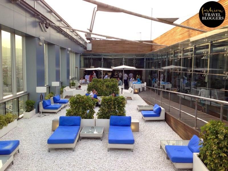 Estrenando la temporada de terrazas de hoteles 2014 - Terraza Zity, Novotel Barcelona
