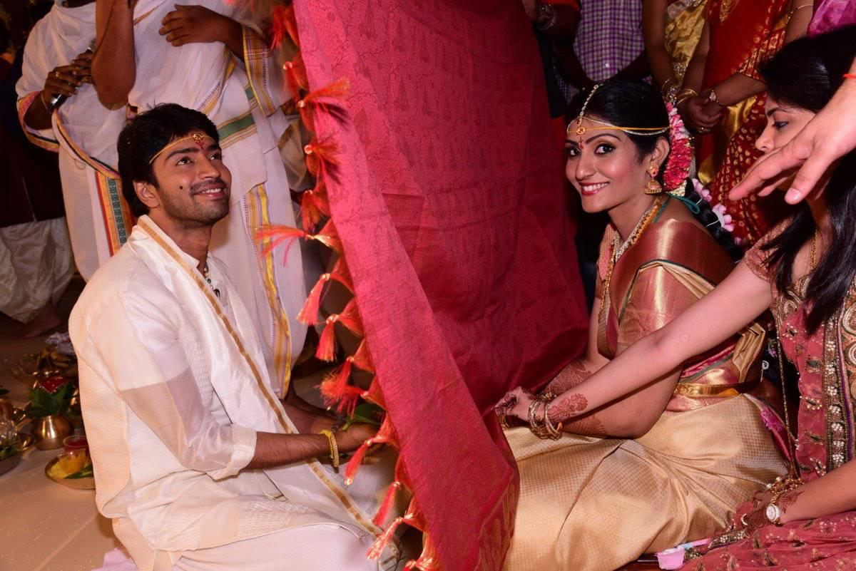 Allari Naresh Wedding Stills