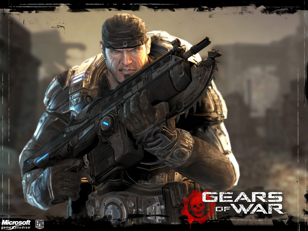 Gears of War HD & Widescreen Wallpaper 0.0734601570849662