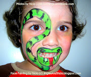 Ssssnake! Snake face painting is a favorite of boys, and I usually paint a .