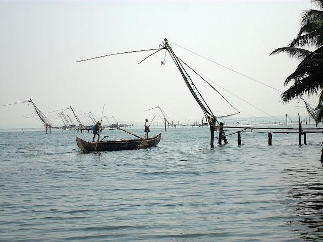 """ловля рыбы с помощью сетки """"паук"""""""
