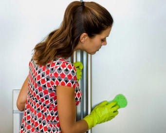 Cara membersihkan lemari es