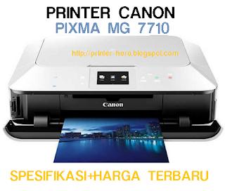 Printer Canon Pixma MG7710 Spesifikasi + Harga