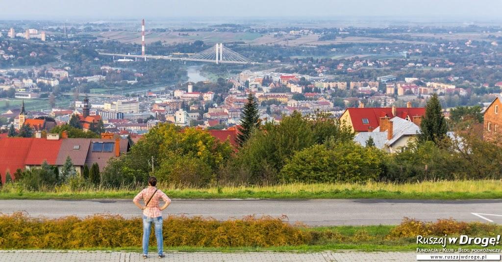 Widok na Przemyśl z Kopca Tatarskiego