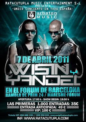 Se traslada el concierto de Wisin y Yandel en Barcelona