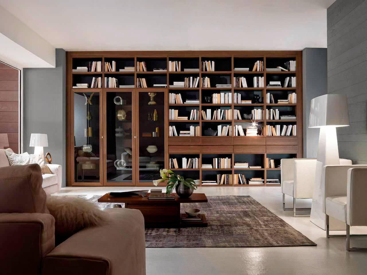 Muebles bibliotecas modernas elegant muebles bibliotecas for Bibliotecas muebles modernos