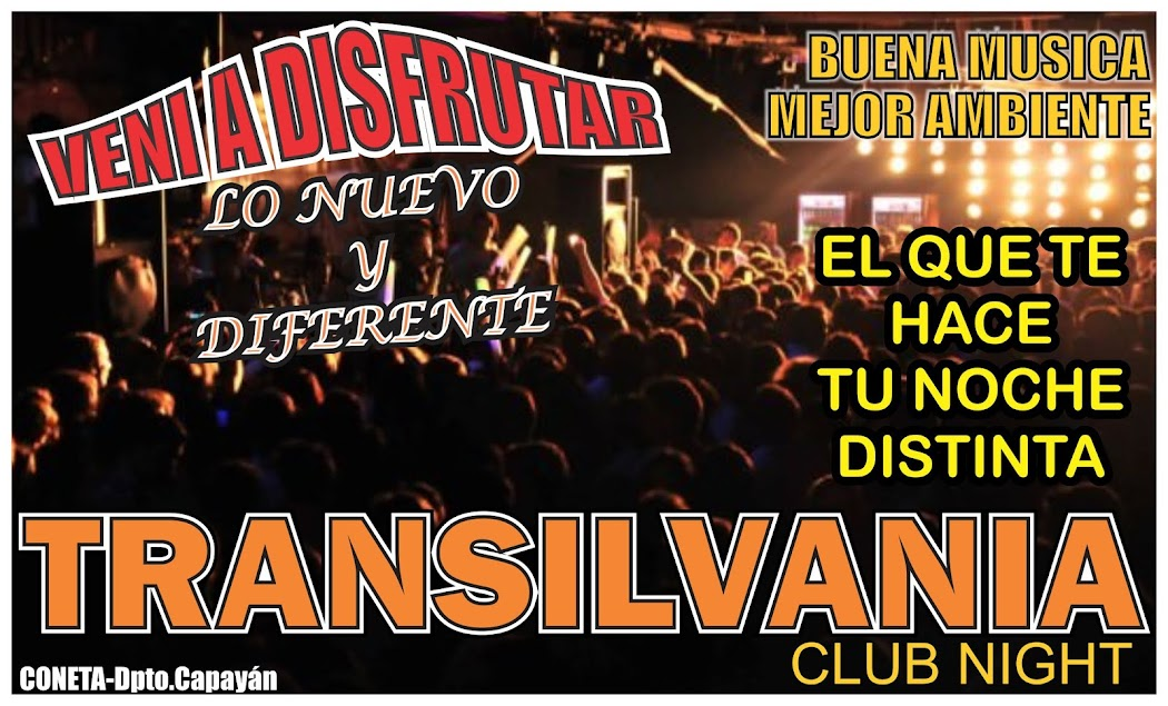 TRANSILVANIA CLUB NIGHT