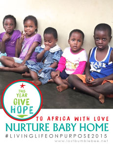 LostBumblebee ©2015 MDBN THIS YEAR GIVE HOPE- TO AFRICA WITH LOVE- NURTURE BABY HOME