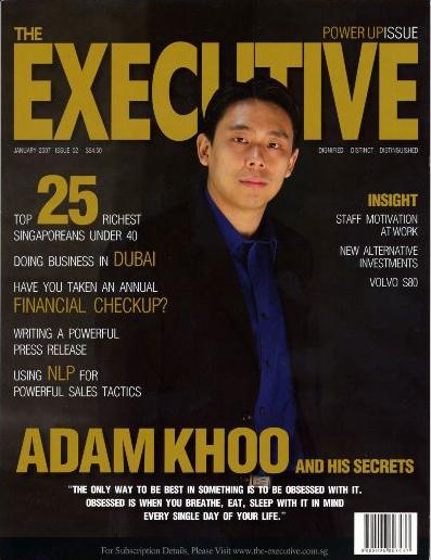 Belajar dari Adam Khoo Motivatornya Pengusaha