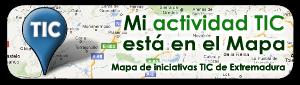 Nuestro blog en el mapa TIC de Extremadura