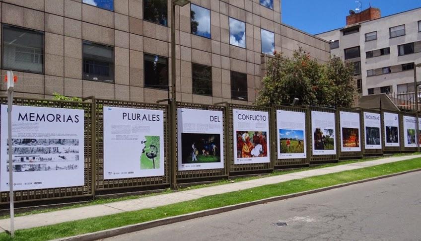 Foto de la exposición Memorias plurales del conflicto
