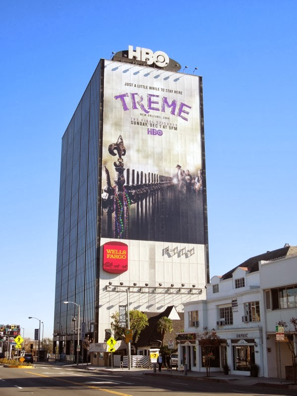 Giant Treme season 4 billboard