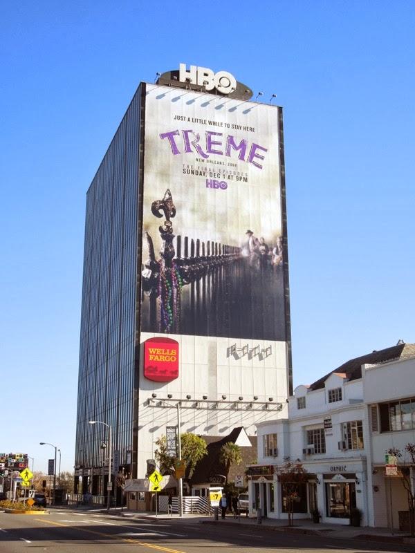 Giant Treme season 4 billboard