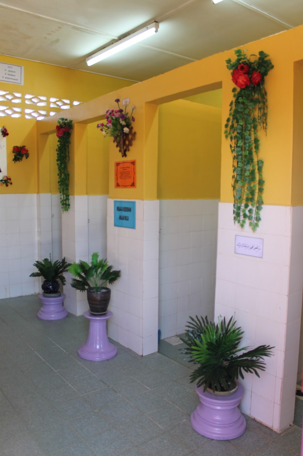 Tandas bersih kami suka latar belakang sejarah tandas for Mural yang cantik