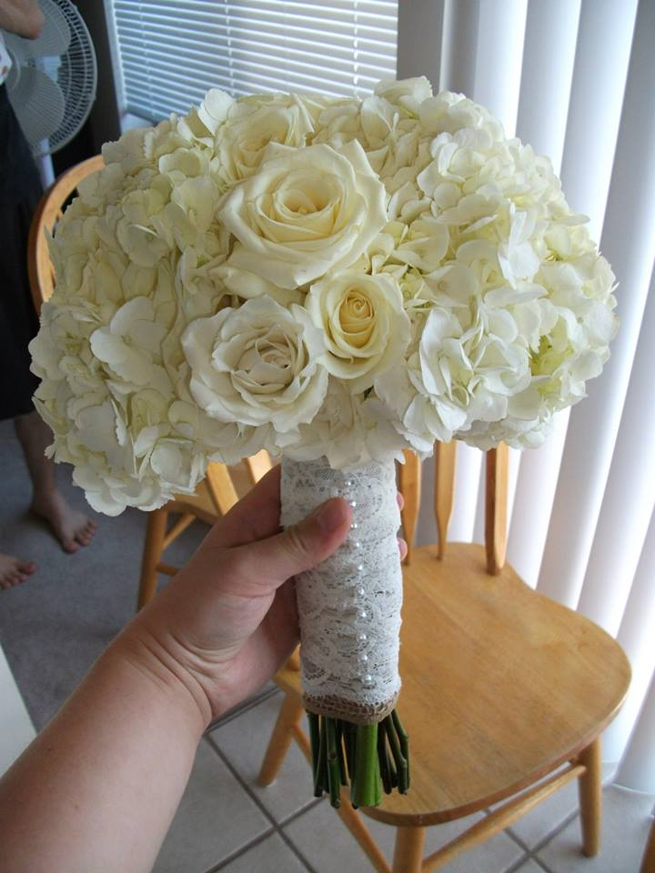 Wedding Flowers by Emily: Chrisitina\'s Bouquet for Bridals