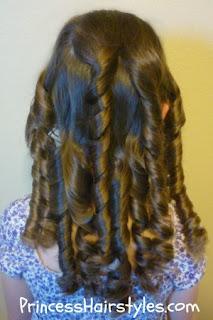 bandana curls