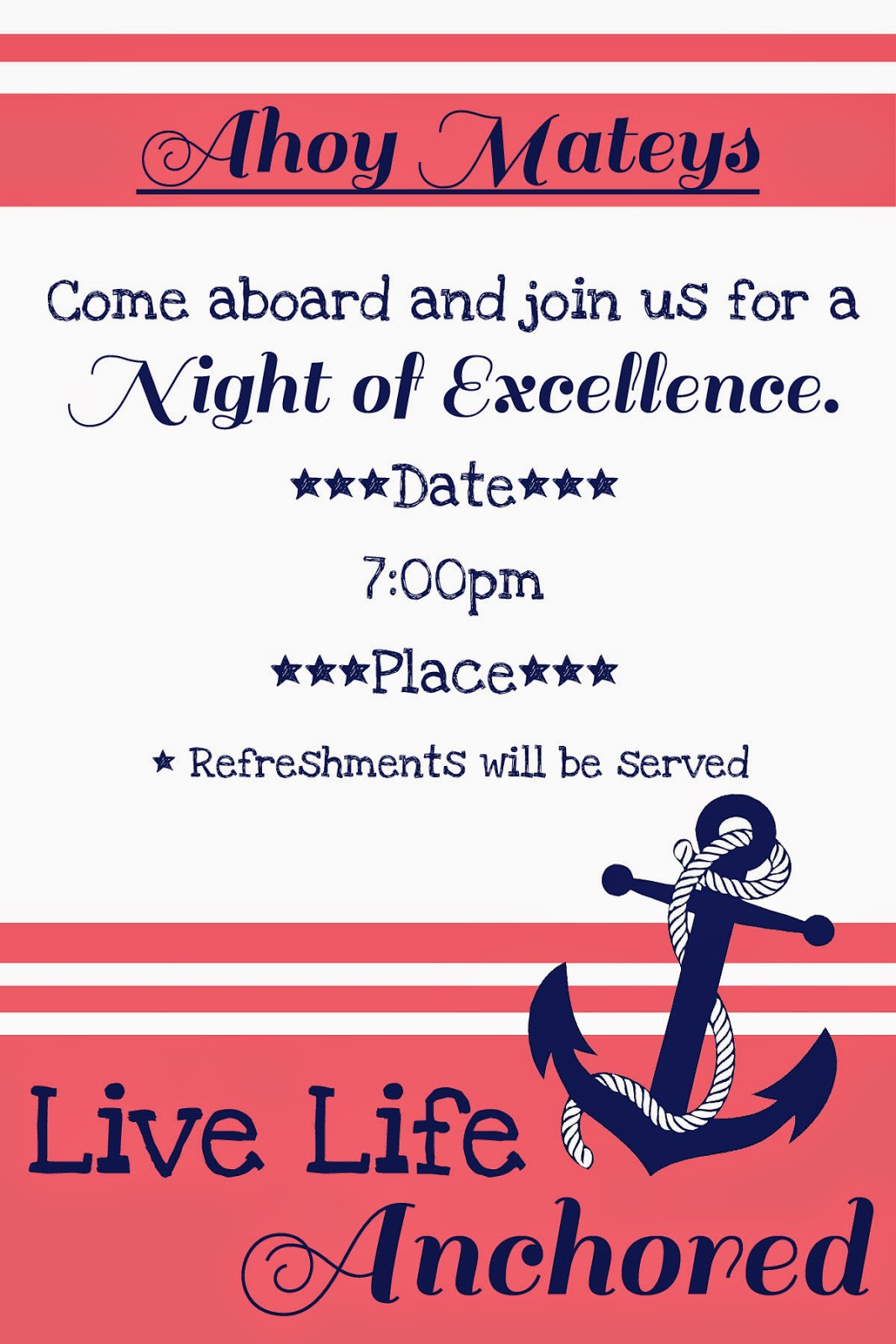 live life anchored night of excellence invitation eee.freetimefrolics.com