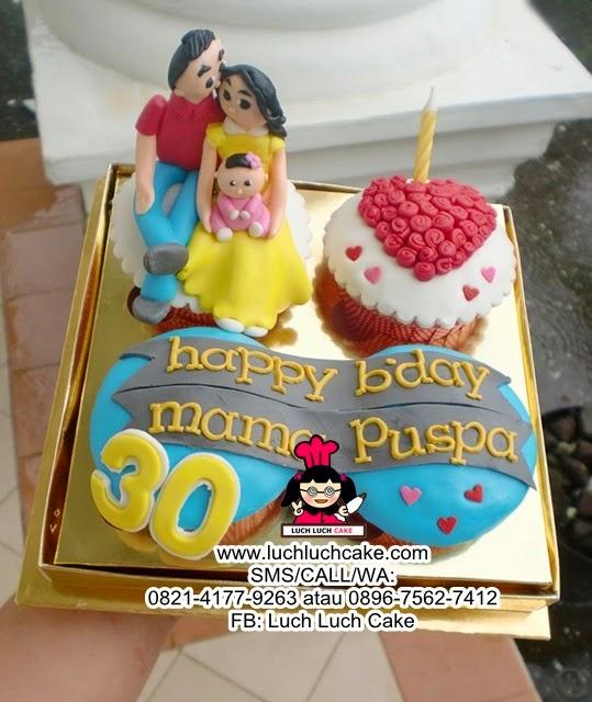 Cupcake Love Untuk Istri Daerah Surabaya - Sidoarjo
