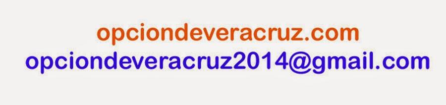 Proximamente nos mudaremos a www.opciondeveracruz.com