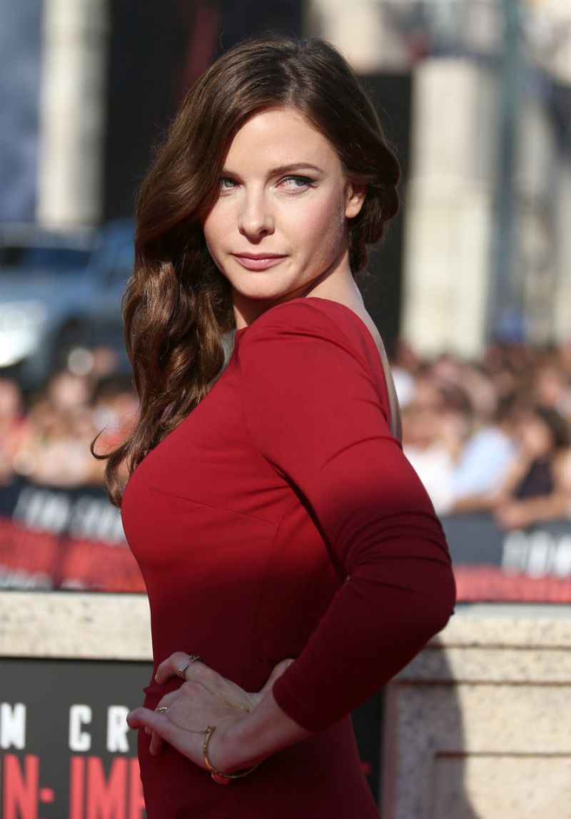 Rebecca Ferguson at the 'Mission: Impossible - Rouge Nation' World Premiere in Vienna