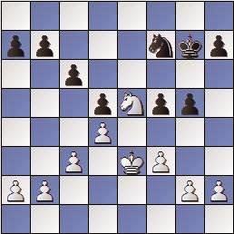 Partida de ajedrez Max Adolf Albin - Esteve Puig i Puig, posición después de 26…g5
