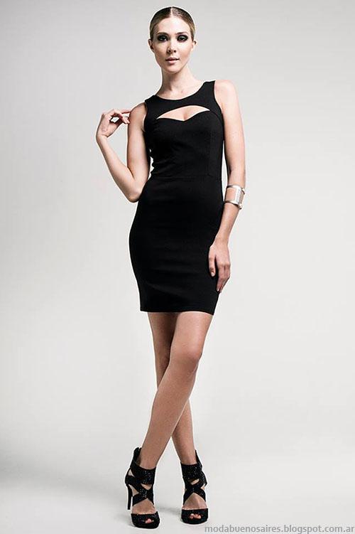 vestidos de moda cortos 2016