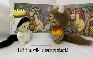 crochet story book dolls