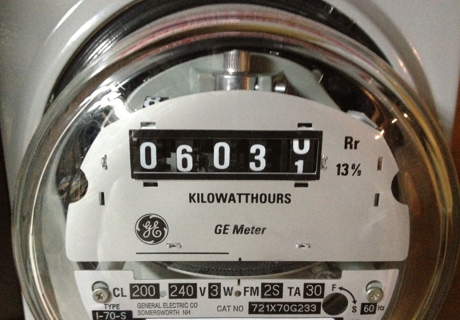 Increasing Electricity Meter : Going for solar the first year — green lifestyle changes