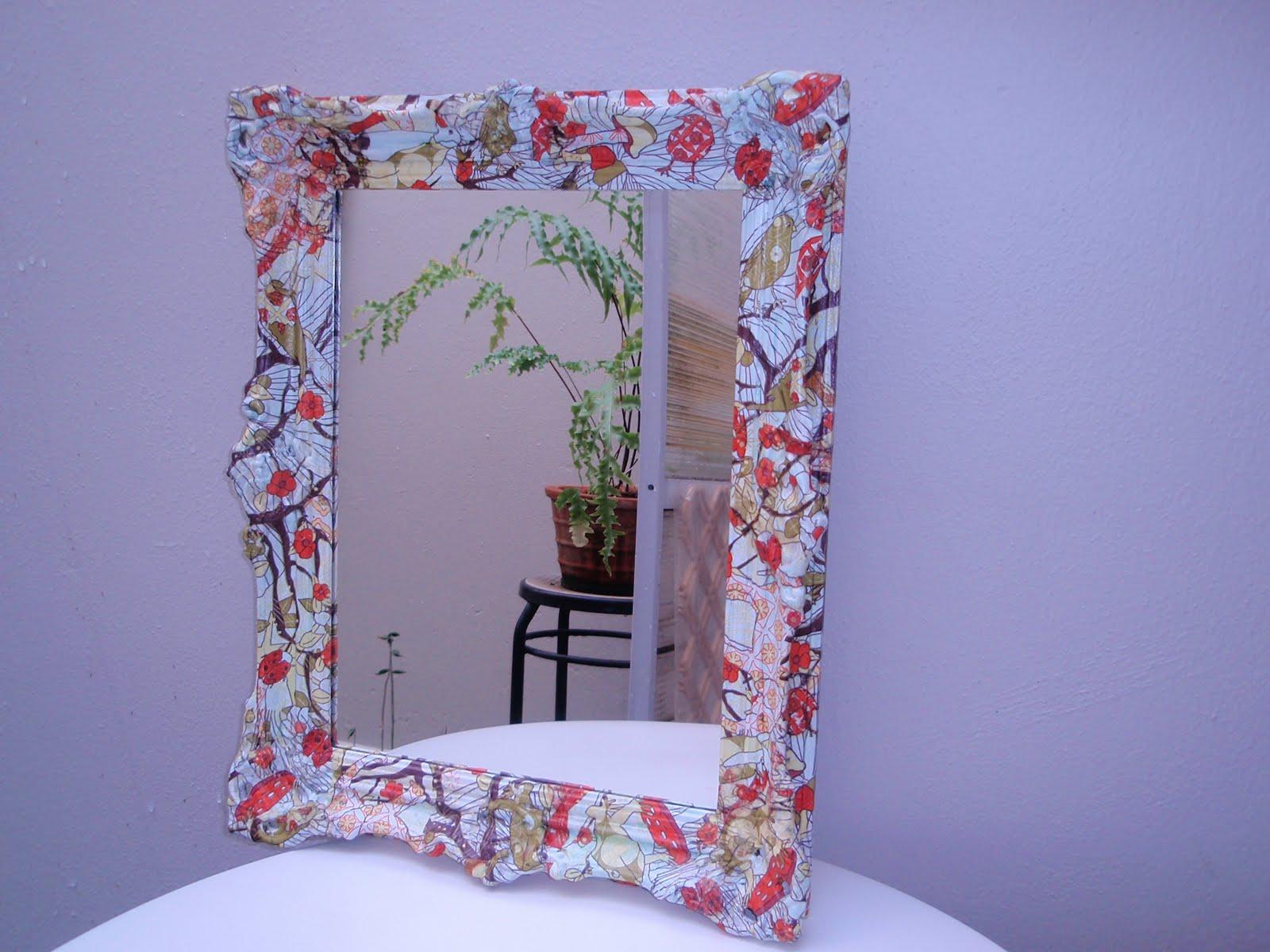 Dise os d coupage marcos espejos for Disenos de marcos para espejos