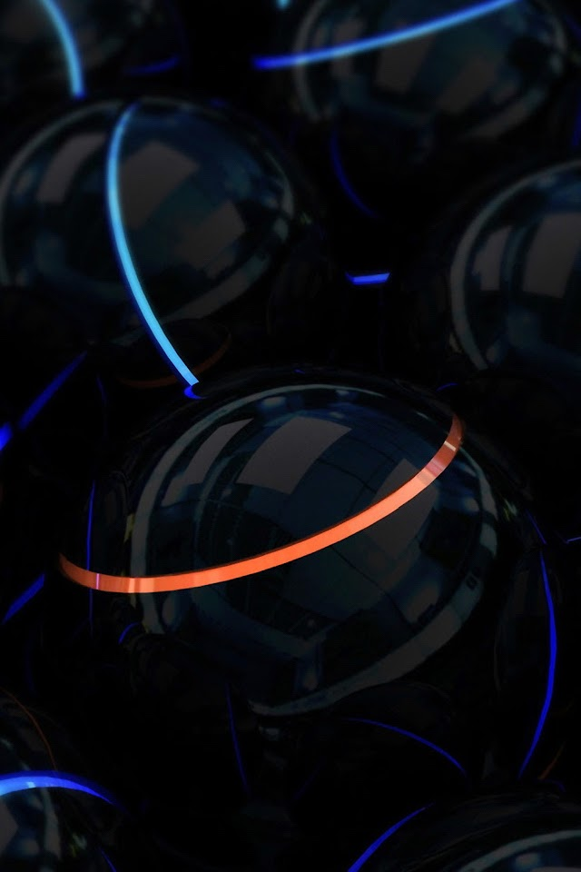 Black Marbles  Galaxy Note HD Wallpaper