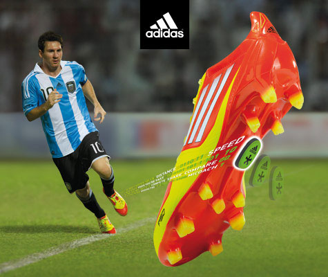 botas Adidas adizero F50 miCoach de Leo Messi
