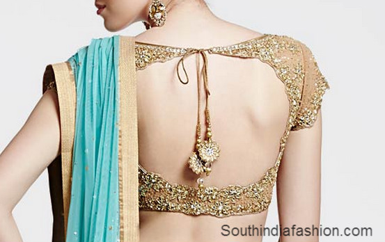 Sleeveless Blouse ~ Fashion Trends ~ • South India Fashion