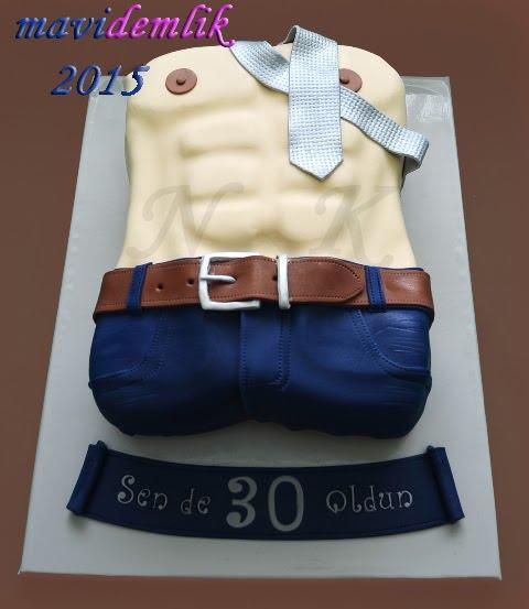 kişiye özel doğum günü pastaları