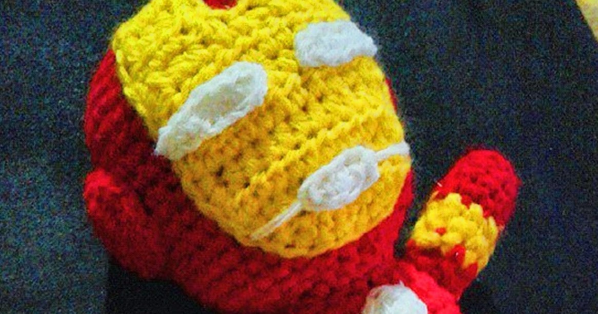 Iron Man Amigurumi Free Pattern : Little Iron Man Amigurumi