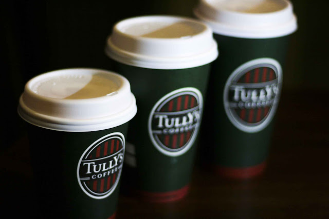 Tully's different cup sizes