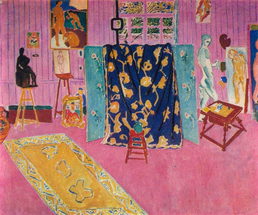 Henri Matisse - L'atelier du peintre,1911.