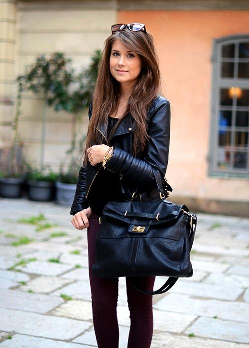 Amazing black fall outfit fashion style